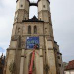 Die Marktkirche, Kirche Unserer Lieben Frauen zu Halle, Marktplatz in Halle (Saale).